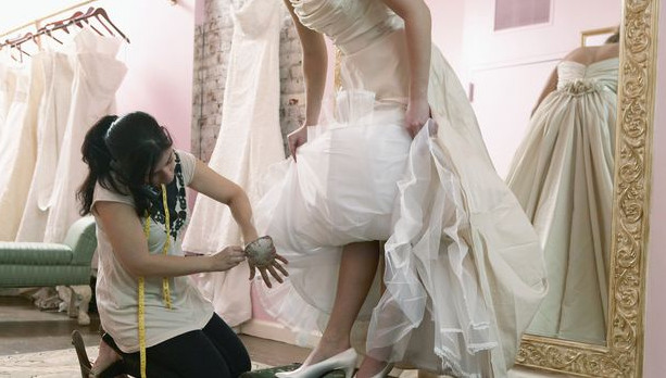 Alterations at joyce station tailor for Wedding dress alterations cost